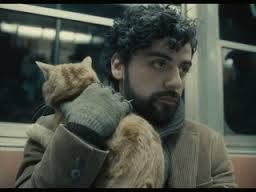 Llewyn Davis con el gato